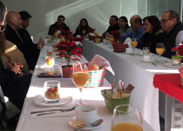 Desayuno de fin de año para profesores de la EIDJ