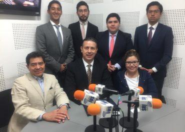 Alumnos invitados al programa «Contra Firma» en radio IUS Multimedia